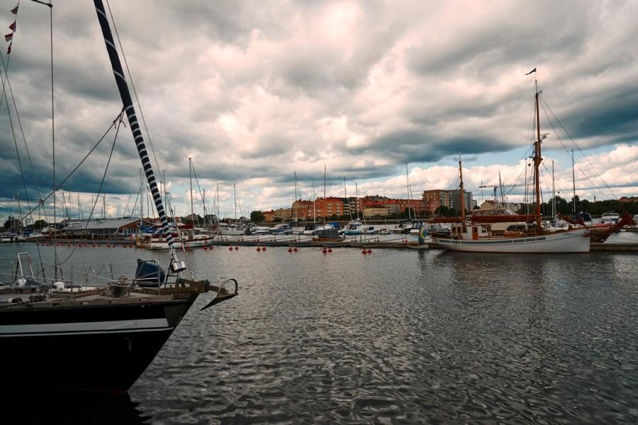 Bild: Unterwegs im Hafen von Karlskrona. NIKON D700 mit AF-S NIKKOR 24-120 mm 1:4G ED VR.