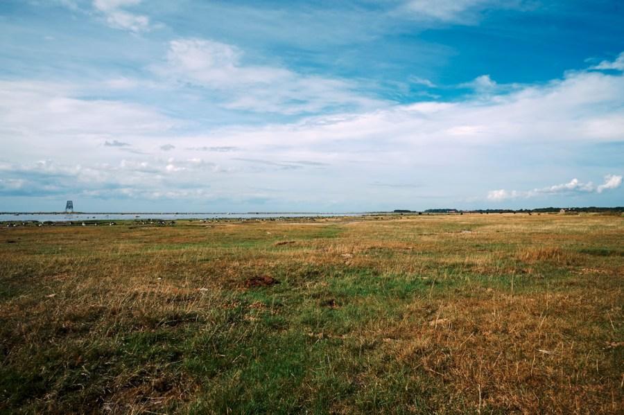 Bild: Landschaft bei Ottenby in der Stora Alvaret auf der Insel Öland mit NIKON D700 und AF-S NIKKOR 24-120 mm 1:4G ED VR.