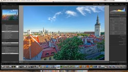 Bild: Eine importierte iPhoto Bibliothek in Adobe Photoshop Lightroom 5.7.