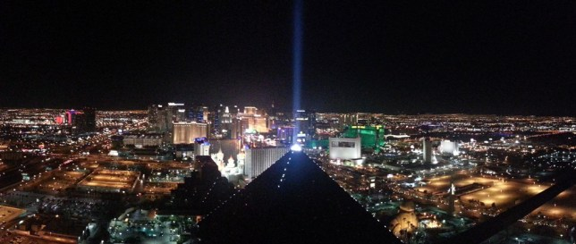 View from MIX from Mandalay Bay