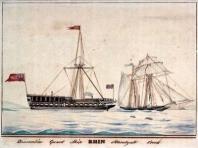 Quarantine_guardship_Rhin_1830