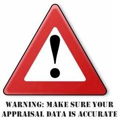 accurate appraisal data