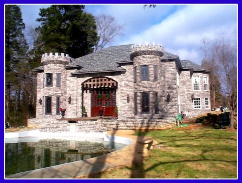 castle home in shelby county, alabama