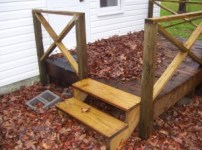 Are hand rails required in an FHA appraisal
