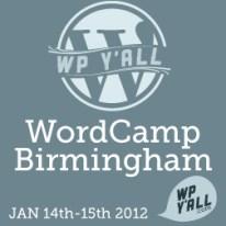 Wordcamp Birmingham