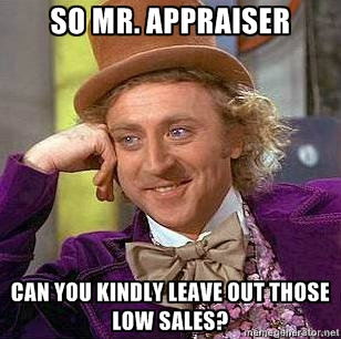 Things not to say to an appraiser