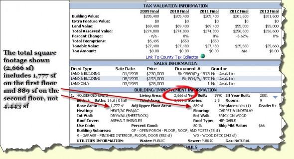 county tax errors