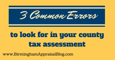 3 common errors to look for in your county tax assessment 1