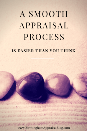 a smooth appraisal process