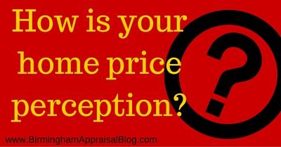 home price perception