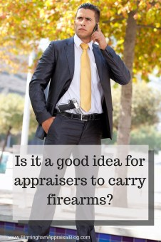 appraisers packing heat (carrying guns)