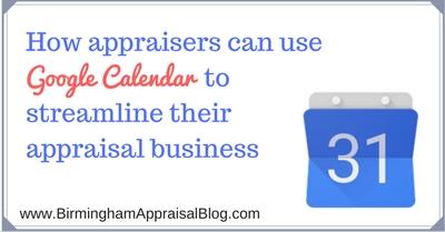 google-calendar-appraisal-business