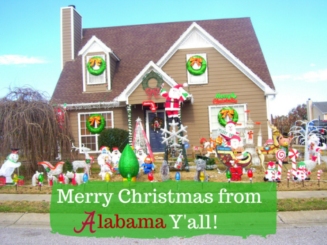Merry Christmas from Alabama