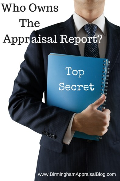 Who owns the appraisal