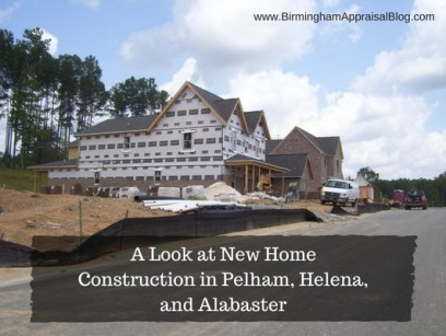 new home construction in Pelham, Helena, and Alabaster
