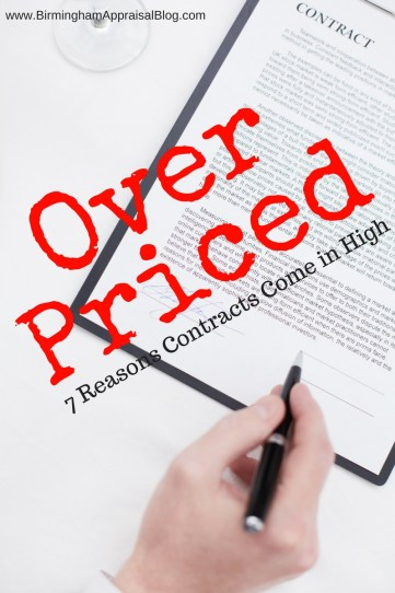 Why sales contracts come in higher than appraisals