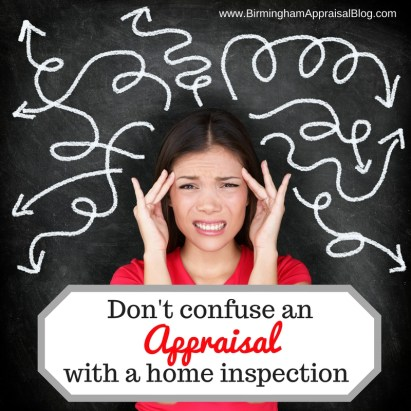 appraisal and home inspection difference