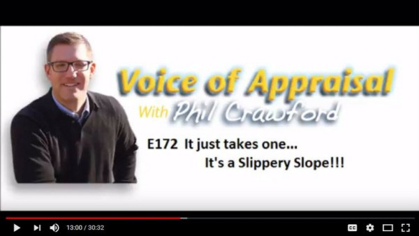 Phil Crawford Voice of Appraisal Property Inspection Waiver podcast