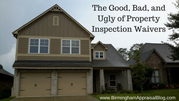 Property Inspection Waiver