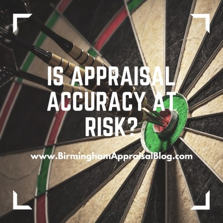 Is appraisal accuracy at risk