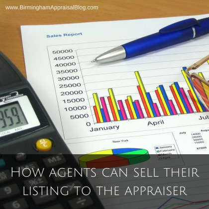 How agents can sell their listing to the appraiser