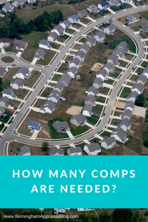 how many comps are needed