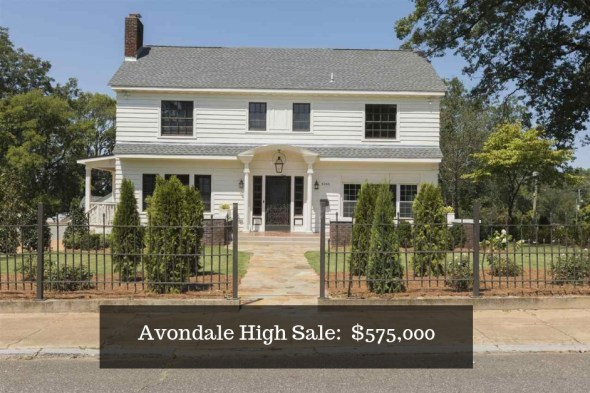 Avondale Home Sales