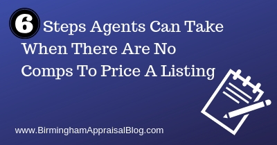 Steps Agents Can Take When There Are No Comps To Price A Listing