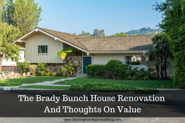 Brady Bunch House Renovation And Thoughts On Value