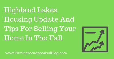Highland Lakes Housing Update And Tips For Selling Your Home In The Fall