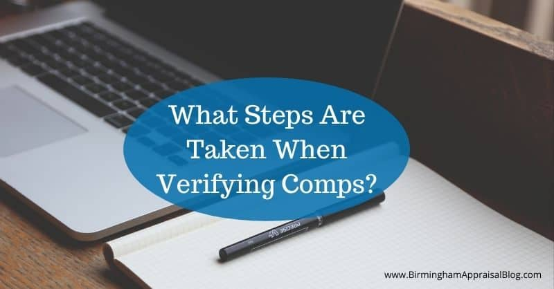 steps in verifying comps