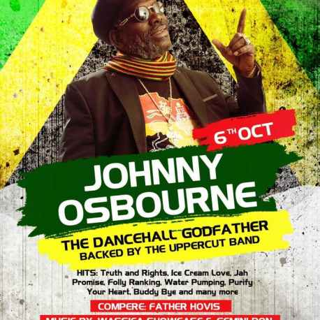 JOHNNY OSBOURNE LIVE ON STAGE