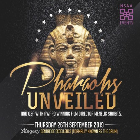 Pharaohs Unveiled with Q & A Film Screening