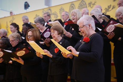 Midlands Hospital's Choir on Story Steps