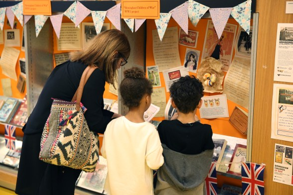Display in Children's Library