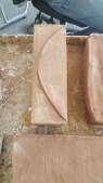 Air dried bricks
