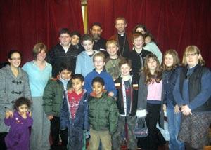 Group photo with fr John