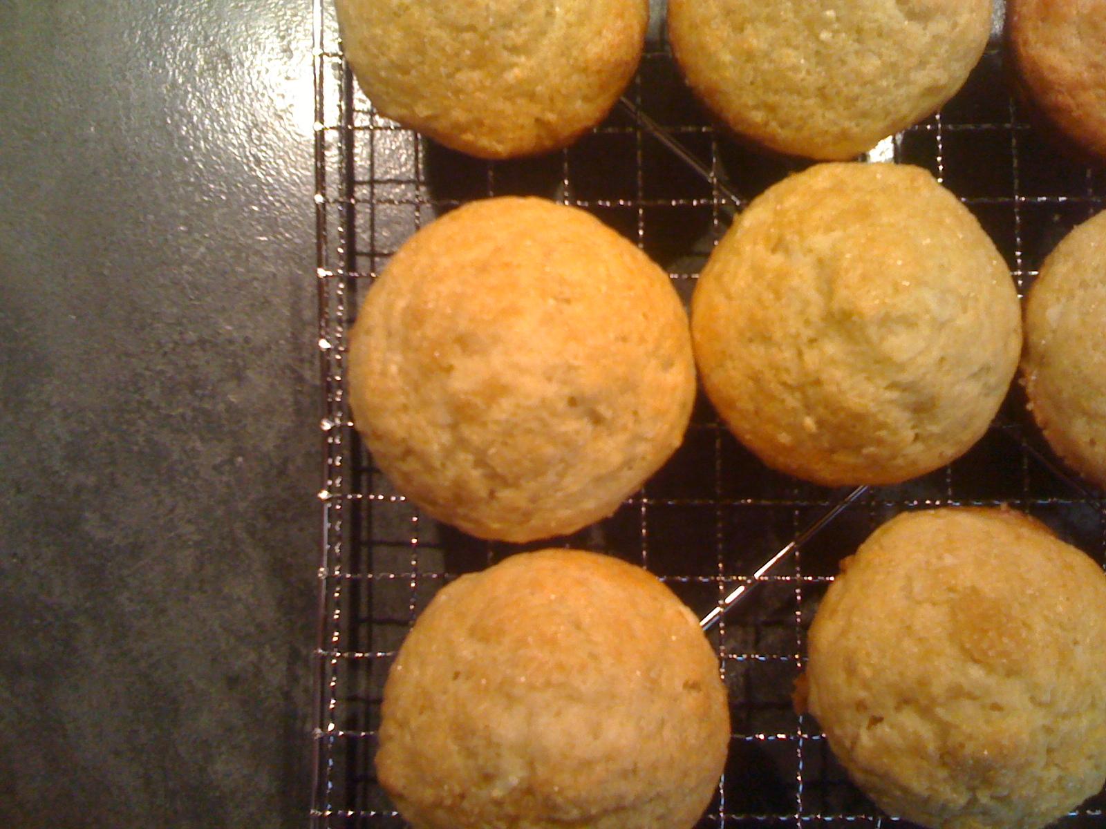 Banana Ricotta Coconut Muffins