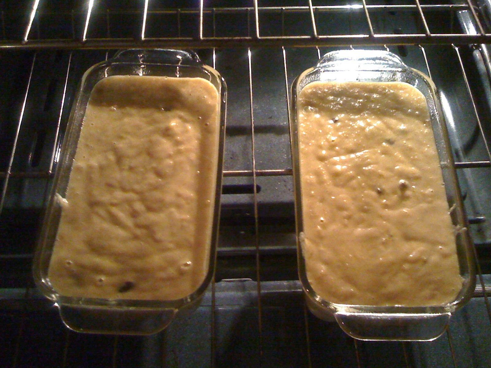 Butternut Squash Bread Baking