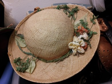 One of 100's of hats used in the production