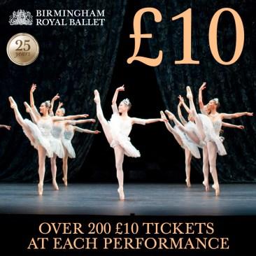 £10 tickets!