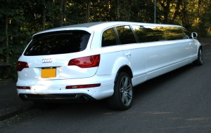 Audi Stretched Limo Birmingham Limo Hire