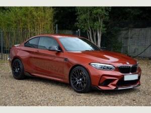 BMW M2 birmingham limos