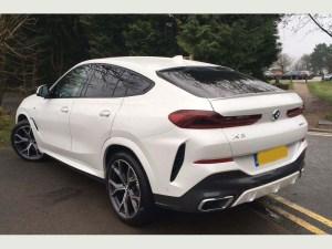 BMW X6 wedding car hire in birmingham