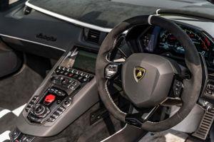 Lamborghini Aventador limo hire in birmingham