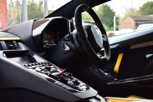 Lamborghini Aventador Svj Coupe prestige car hire