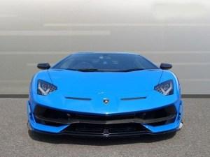 Lamborghini Aventador Svj Coupe limo hire in birmingham