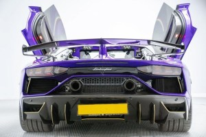 Lamborghini Aventador birmingham limo