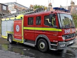 Fire Engine Limo Hire in Birmingham