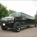 Black Hummer Limo Birmingham